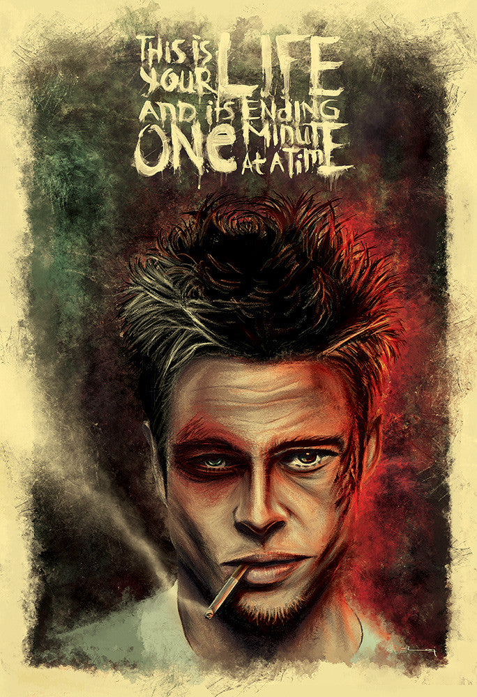 """FIGHT CLUB: LIFE"" by Raj Khatri - Hero Complex Gallery"