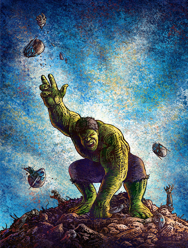 """Rampage"" by Chet Phillips - Hero Complex Gallery"
