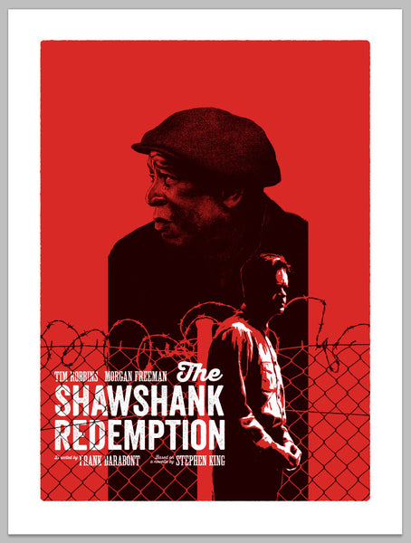 """The Shawshank Redemption"" by Andrew Swainson - Hero Complex Gallery"