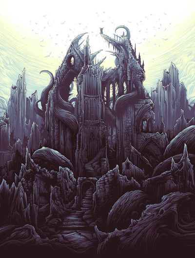 """The Earth Itself / Shall Rise From Below / And Tower Over All"" by Dan Mumford - Hero Complex Gallery  - 3"