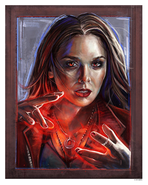 """Scarlet Witch"" by Robert Bruno - Hero Complex Gallery"
