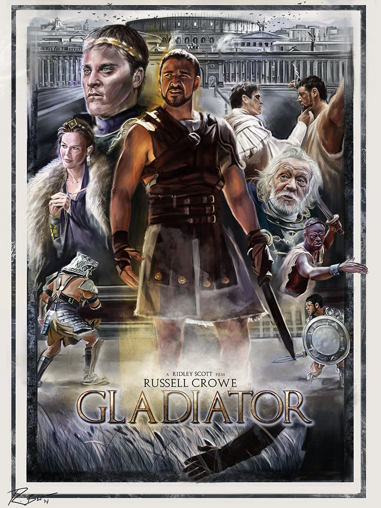 """Gladiator"" by Robert Bruno - Hero Complex Gallery"
