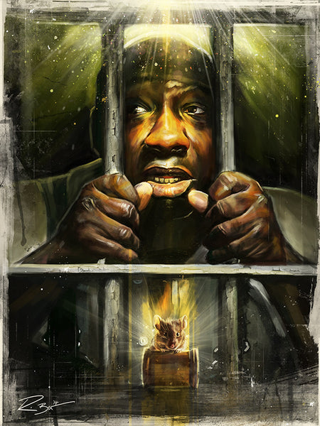 """The Green Mile"" by Robert Bruno - Hero Complex Gallery"