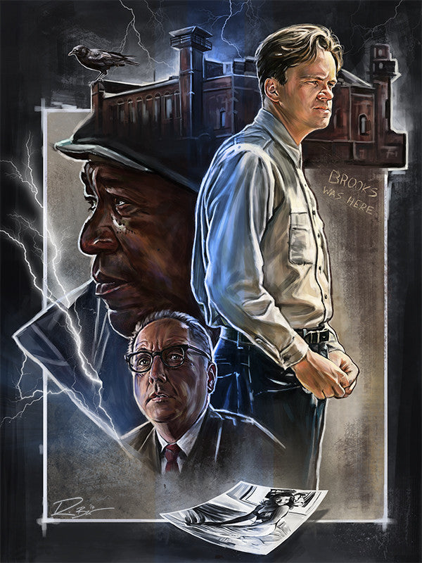 """The Shawshank Redemption"" by Robert Bruno - Hero Complex Gallery"