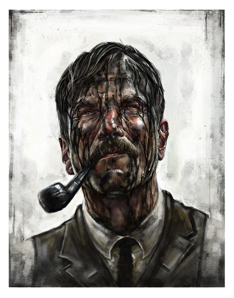 """Daniel Plainview"" by Robert Bruno - Hero Complex Gallery"