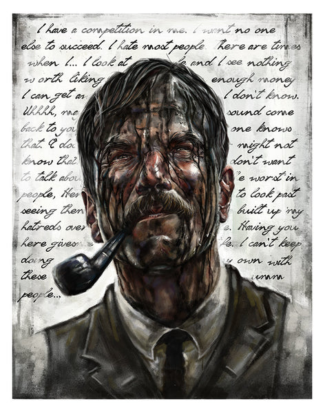 """Daniel Plainview"" Variant by Robert Bruno - Hero Complex Gallery"