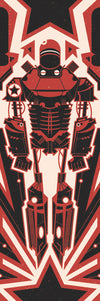 """Liberty Prime"" Red by Ron Guyatt - Hero Complex Gallery"