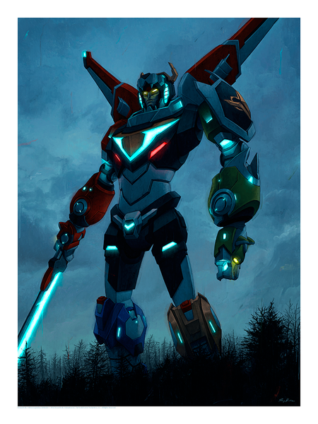 """Voltron"" by Rory Kurtz - Hero Complex Gallery"