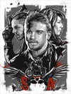 """The Reaper Calls"" A tribute to Sons of Anarchy by Robert Bruno - Hero Complex Gallery"