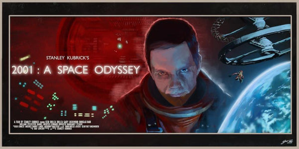 """2001 A Space Odyssey"" by Juan Hugo Martinez - Hero Complex Gallery"