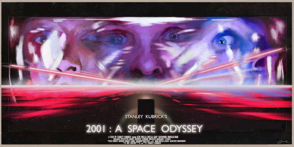 """2001 A Space Odyssey: Void"" by Juan Hugo Martinez - Hero Complex Gallery"