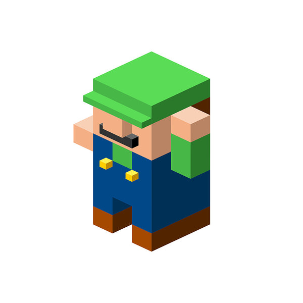 """Luigi"" by Salvador Anguiano - Hero Complex Gallery"
