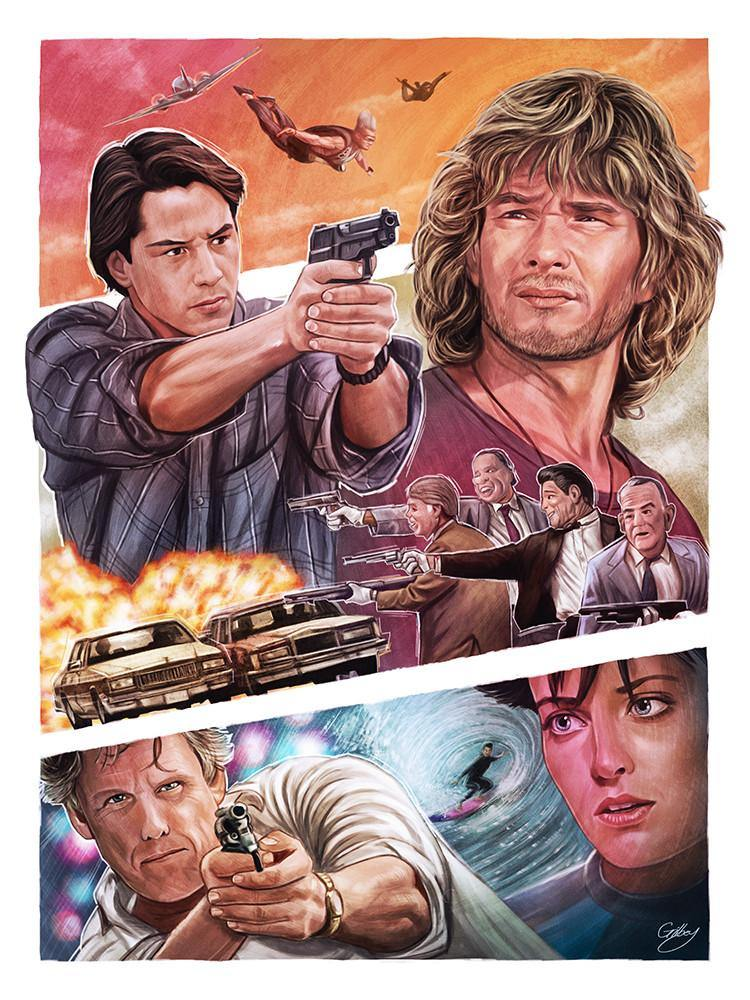 """Point Break"" by Sam Gilbey - Hero Complex Gallery"