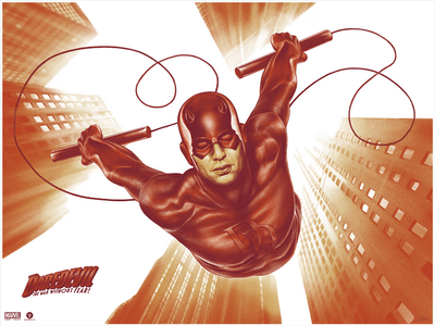 """Daredevil"" by Sara Deck"