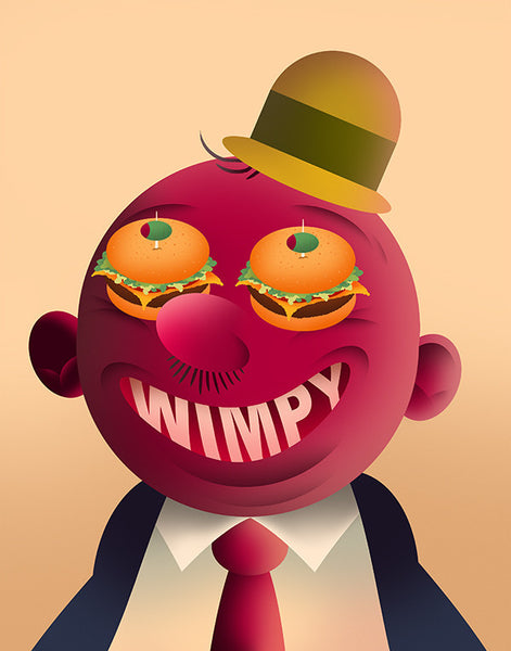 """Wimpy"" by Scott Balmer - Hero Complex Gallery"