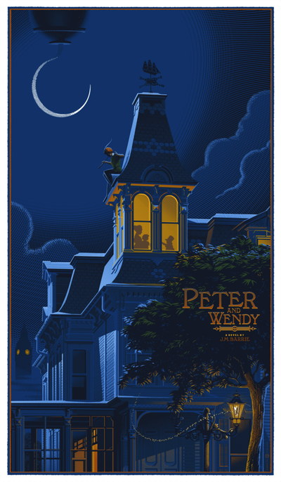 """Peter Pan (Peter and Wendy)"" by Laurent Durieux - Hero Complex Gallery  - 1"