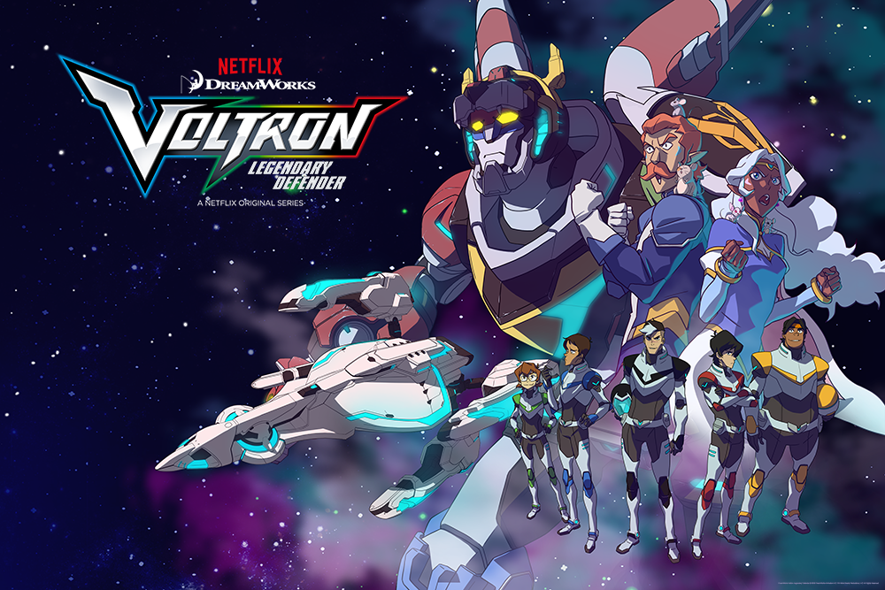 """GO TEAM VOLTRON!"" by Shaun O'Neil - Hero Complex Gallery"