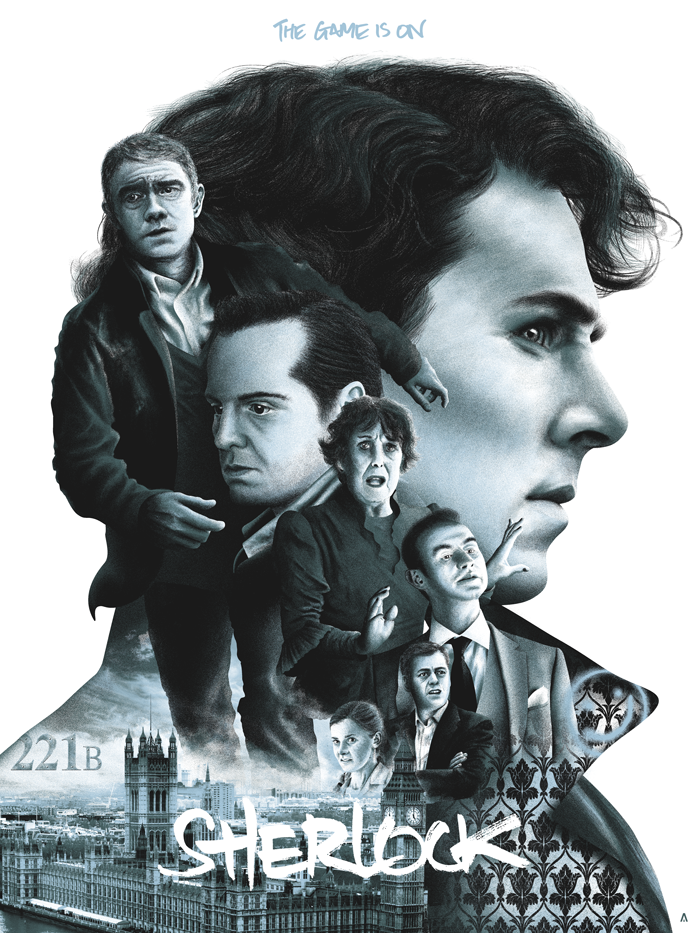 """Sherlock"" by Tom Miatke"