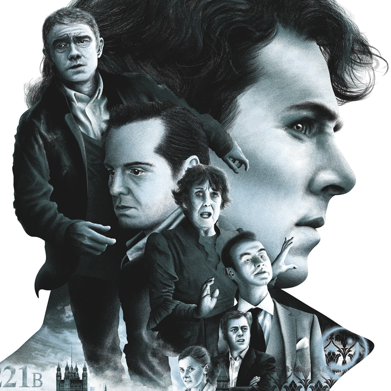 """Sherlock"" by Tom Miatke - Hero Complex Gallery  - 2"