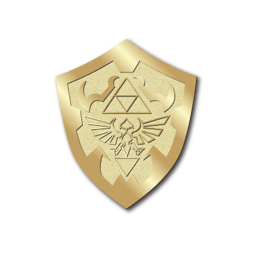 """Master Shield"" Gold Edition Pin - Hero Complex Gallery"