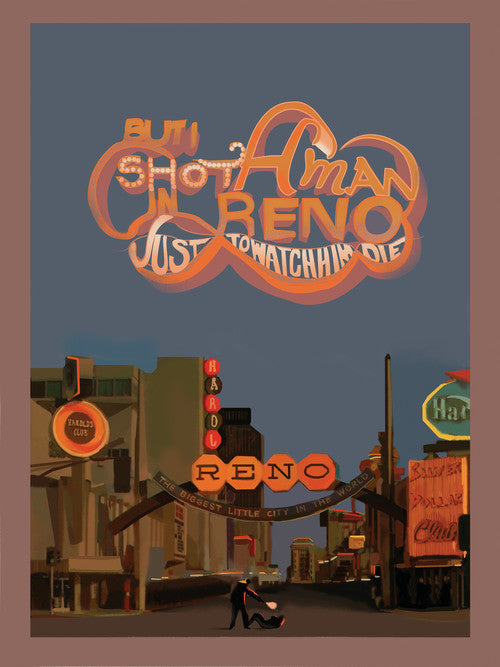 """Shot A Man In Reno Just To Watch Him Die"" by Fernando Reza - Hero Complex Gallery"