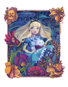 """Alice in the Garden"" by Siames Escalante - Hero Complex Gallery"