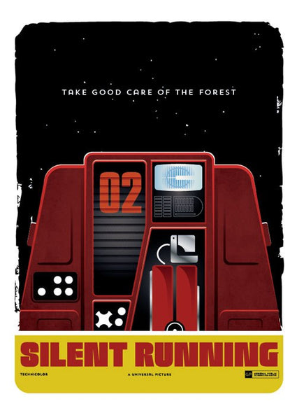 """Silent Running"" by Neal McCullough (Hand Drawn Creative) - Hero Complex Gallery"