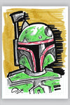 """Rogues Gallery - Boba Fett"" by Scott Park"