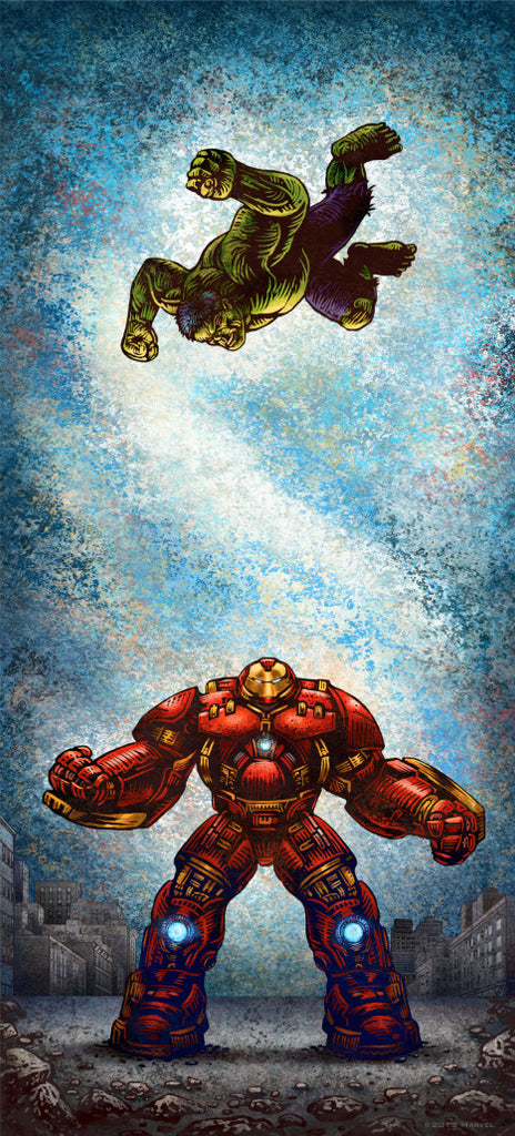 """Smash"" by Chet Phillips - Hero Complex Gallery"