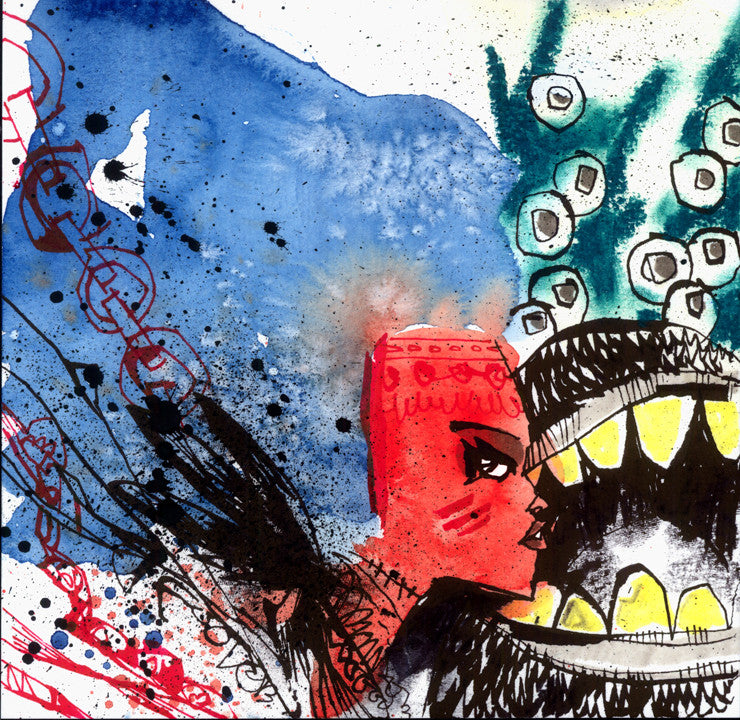 """SMOOTH VOODOO"" by Jim Mahfood - Hero Complex Gallery  - 1"