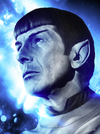 """Mr. Spock"" Variant by Levent Aydin - Hero Complex Gallery"