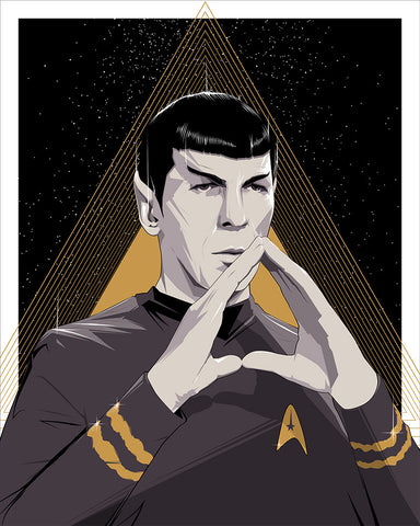 Spock by Craig Drake - Hero Complex Gallery