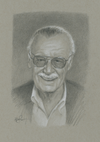 """Stan Lee"" by Primary Hughes"
