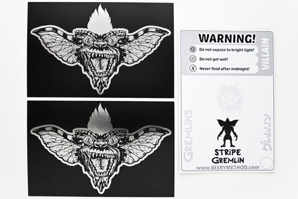 """Stripe"" Card Silver Pack by Beery Method $12.00 - Hero Complex Gallery  - 3"