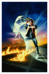 """Back to the Future"" Art Print Version Screen Print by Drew Struzan - Hero Complex Gallery"