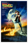 """Back to the Future"" One-Sheet Version Screen Print by Drew Struzan - Hero Complex Gallery"