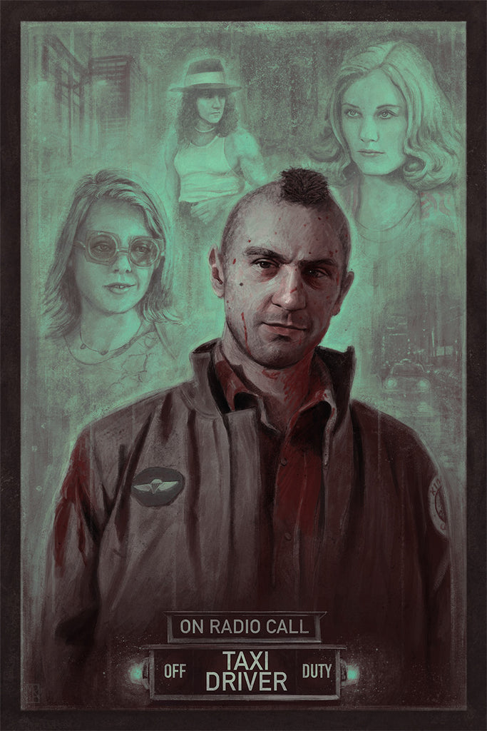 """Taxi Driver"" Variant by Matthew Rabalais - Hero Complex Gallery"