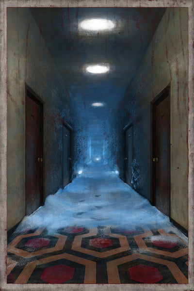 """The Overlook Hotel"" by Matthew Rabalais - Hero Complex Gallery"