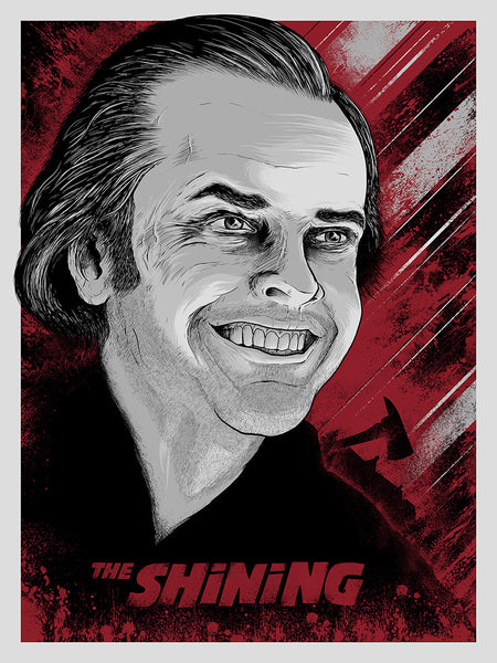 """The Shining"" Variant by Matthew Johnson - Hero Complex Gallery"