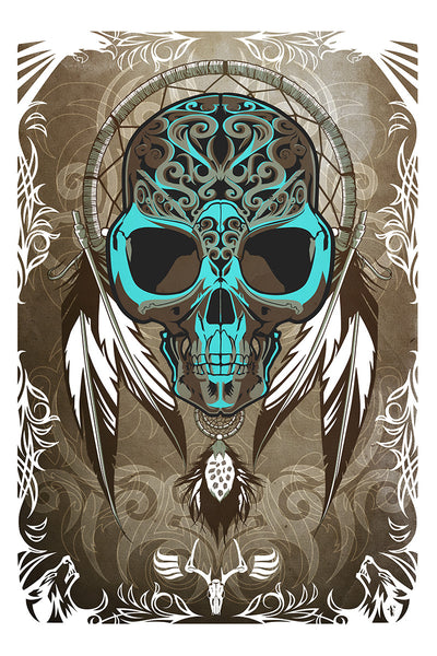 """DREAMCATCHER"" by THE DARK INKER - Hero Complex Gallery"