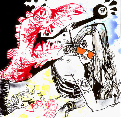 """THE EYE TONGUE"" by Jim Mahfood - Hero Complex Gallery  - 1"