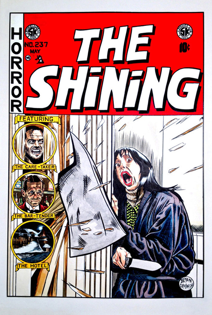 """The Shining No. 237"" by Brian Crabaugh - Hero Complex Gallery"