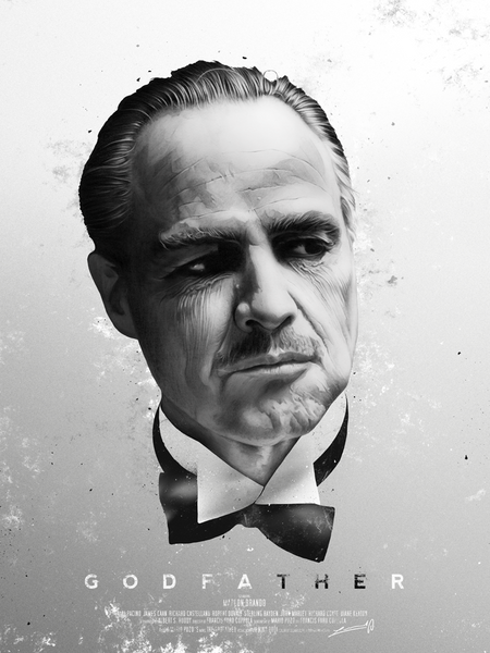 """Godfather"" by Levent Aydin - Hero Complex Gallery  - 1"