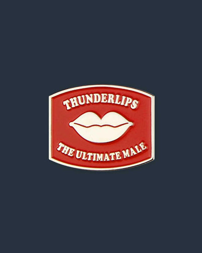"024. ""Thunderlips"" Pin by Blue Ruin"