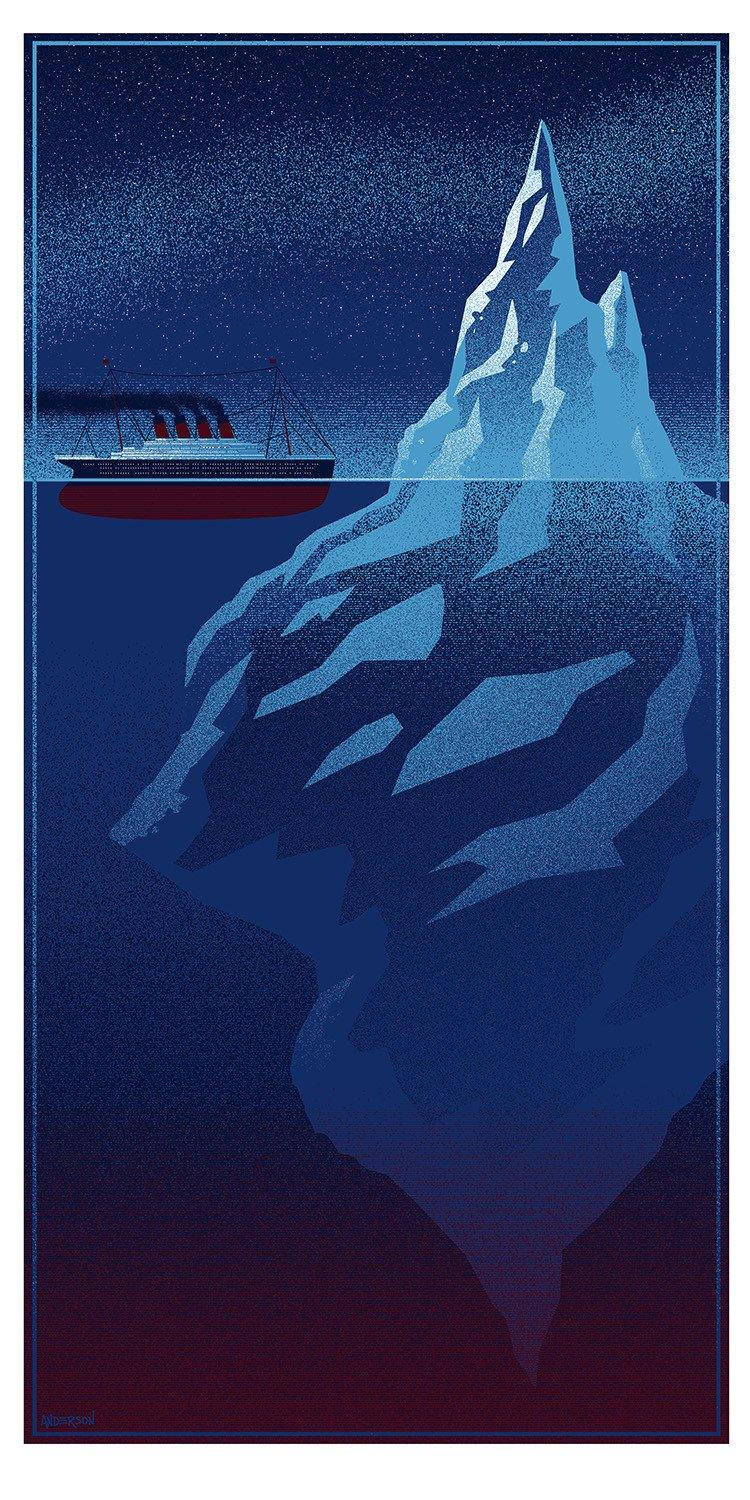 Iceberg Right Ahead By Timothy Anderson Hero Complex Gallery