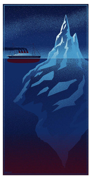 """Iceberg Right Ahead"" by Timothy Anderson - Hero Complex Gallery"