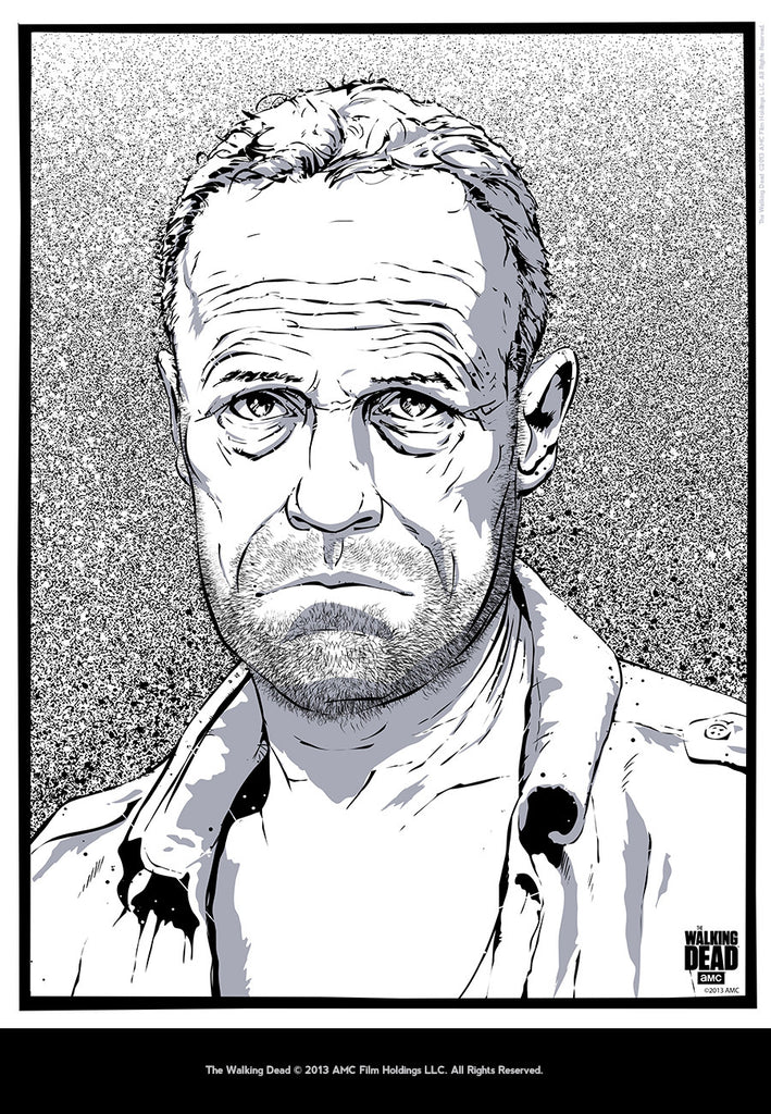 """Merle Dixon"" by Timothy Anderson - Hero Complex Gallery  - 2"