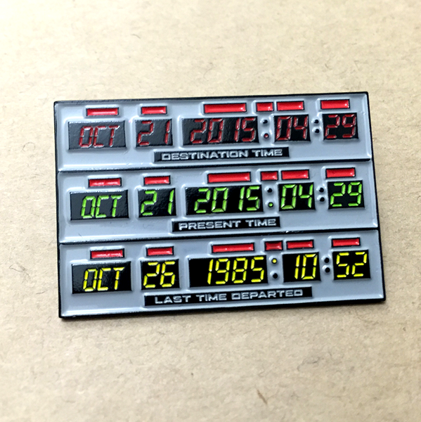 """BTTF Time Circuits"" Pin by Kevin M Wilson - Hero Complex Gallery"