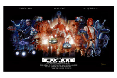 """Fifth Element"" Title Variant by Nick Runge - Hero Complex Gallery  - 2"
