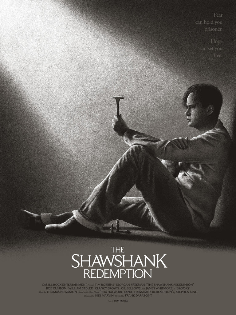 """The Shawshank Redemption"" by Tom Miatke - Hero Complex Gallery  - 1"
